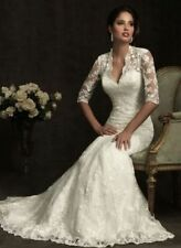 Q028  Abiti da Sposa vestito nozze sera wedding evening dress
