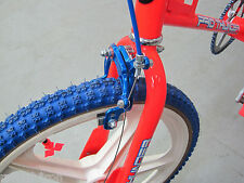 BLUE BMX Muscle Bike Freestyle Bicycle Front Brake Caliper Cable & Lever