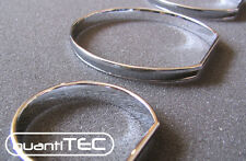 CHROM TACHO RINGE TACHORINGE SET BMW E46 3er SNAP IN KLIPSEN CLIPSEN SNAP IN NEU