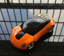 US 2.4GHz Wireless 3D Porsches Car Shape Mini Usb Optical Gaming Mouse in Orange