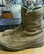 Belleville Vibram Sole Gortex Tan Leather Military Combat Boots Size 9R NICE