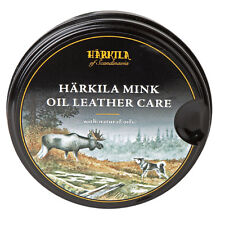 Harkila Mink Oil Leather Care with Natural Oils for shoes boots