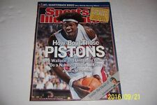 2004 Sports Illustrated DETROIT Pistons BEN WALLACE No Label NBA Championship