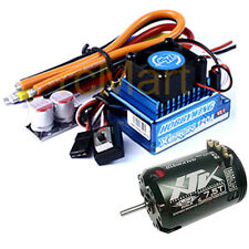 Hobbywing XERUN 120A V2.1 Sensored Brushless ESC Blue 7.5T Combo RC Cars #CB0883