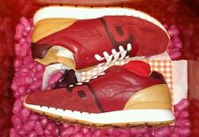 "AFEW x KANGAROOS OMNICOIL II ""JELLY"" JELLY RED/PEANUT BUTTER MEN'S SIZE 10.5"