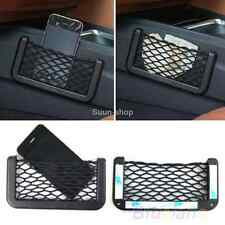 Car Seat Side Back Phone Storage Net String Bag Phone Holder Ticket HP for Jeep