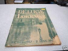 DELUGE EN LORRAINE 29 DECEMBRE 1947 2 JANVIER 1948 INNONDATIONS *