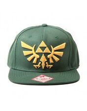 Kappe / Snapback Nintendo Zelda Grün mit Golden Triforce LogoTwilight Princess