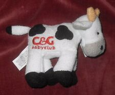 "Cow and Gate Baby Club Plush Promo Soft Toy Cow  Approx 5"" Long"