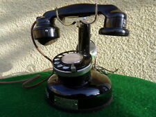 ANCIEN TELEPHONE ANTIQUE VINTAGE OLD PHONE DECO ALTE TELEFON 1924 FONCTIONNE