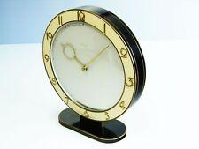 THE ! BIG ! HEINRICH MOELLER ART DECO DESK CLOCK  KIENZLE  BRASS