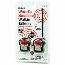 World's Smallest Walkie Talkie Electronic Toys by Funtime Gifts