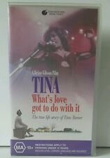 Tina -The True Life Story of Tina Turner VHS Video Tape * Cheap *