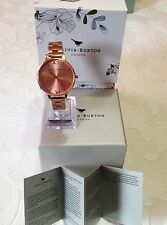OLIVIA BURTON ROSE GOLD BIG DIAL LADIES WATCH OB13BL07BS