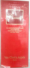 Van Cleef & Arpels Birmane Eau Deodorante Parfume 125ml Spray Vintage New & Rare