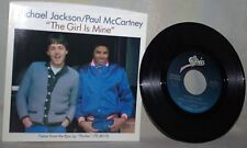 "The Beatles-Paul McCartney & Michael Jackson-45 RPM-7""-Epic-""The Girl is Mine""#3"