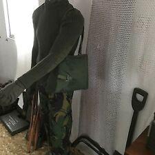 Nuevo Bolso Vintage máscara de gas sueco Correas Ejército Excedente miliar caza tiro