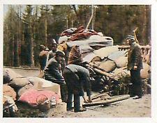 East Prussia population flees Russians Deutsches Heer WWI WELTKRIEG 14/18 CHROMO