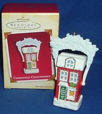 Hallmark Ornament Christmas Countdown 2005 Advent Calendar NIB