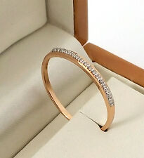 14ct Yellow Gold Wedding Band Ring with Diamonds  Size: M