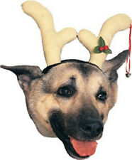 Reindeer Headpiece Antlers Horns Christmas Holiday Pet Dog Cat Costume Accessory