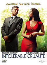 DVD ** INTOLERABLE CRUAUTE ** G.Clooney, C.Zeta-Jones