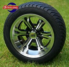 "GOLF CART 12"" M/B TRANSFORMER WHEELS / RIMS and 215/40-12 LOW PROFILE TIRES (4)"