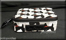 VERA BRADLEY Travel Pill Case - Scottie Dogs Pattern NWT