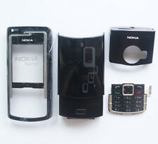 Black NEW Cover Housing Case For Nokia N72+Keypad+Tool