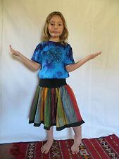 Vetement Ethnique Enfant - Jupe Kali Coton Tie Dye