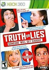 Truth or Lies BRAND NEW SEALED Microsoft Xbox 360 NO MICROPHONE GAME