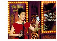RUTHIE ANN MILES-KING AND I- ON BROADWAY Signed Photo 8x10-PROOF- FREE SHIPPING