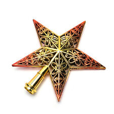 Christmas Tree Star Topper Ornament Party Decoration Xmas New Decorations StarsB