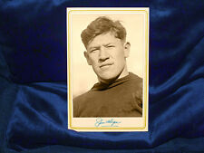 Sports Great Jim Thorpe Cabinet Card Photograph Vintage Football Sports CDV V2