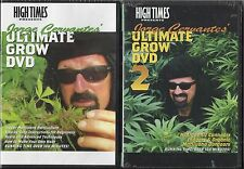 "HIGH TIMES PRODUCTIONS DVD SET ""JORGE CERVANTES' ULTIMATE GROW DVD #1 AND #2"""