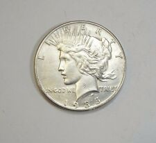 1935 Peace Dollar ALMOST UNCIRCULATED Silver Dollar