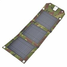 7W USB Folding Solar Panel Outdoor Portable Charger For Mobile Phone