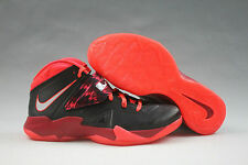 Mens Nike Lebron Zoom Soldier VII PP Size 12 Black/Silver Gym Red 609679-005