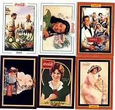 COCA COLA Lot de 6 Cartes NEUVES DIFFERENTES Lot N° COCA-K 025