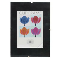 A4 CLIP FRAMES WITH PLEXI-GLASS FRONT (PLASTIC)