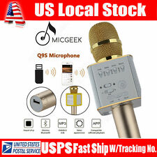 MicGeek DSP Q9S Wireless Bluetooth Microphone KTV Karaoke Speaker Q9 Upgraded US