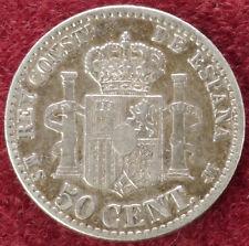 Spain 50 Centimos 1880 (C0610)