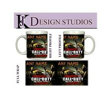 Call of duty zombies personnalisé gaming fan mug