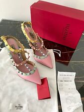 New Valentino Watercolor Rockstud Shoes  Multicolour Heels 39 RRP $2000