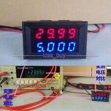 DC 0-500V 20A Dual display Voltmeter Ammeter Digital LED Amp Volt tester Meter