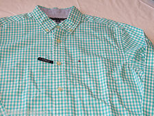 Tommy Hilfiger dress shirt 7871240 Turkish Stone 443 S classic Men's long sleeve