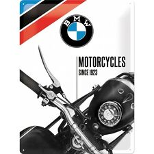 BMW Motorcycles since 1923 Blechschild Schild Blech Metall Tin Sign 30 x 40 cm