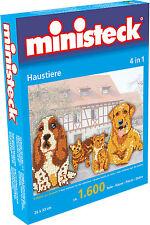 Ministeck Pixel Puzzle (31326): Pets (4in1) 1600 pieces