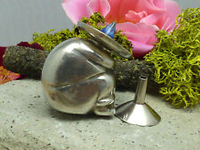 Vintage Mexican Sterling Silver Figural Perfume Bottle w/ Wand & Funnel!!
