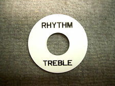 Catfish Rythm/Treble Plate Unterleg-Platte für Toggle Switch weiss